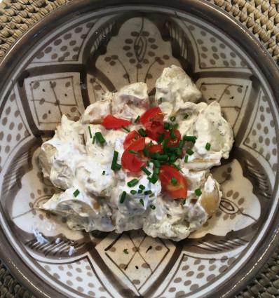 Kartoffelsalat, hjemmelavet 500 gr